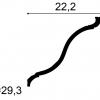 Фото размеров карниза Orac C335