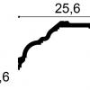 Фото размеров карниза Orac C340