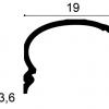 Фото размеров карниза Orac C342