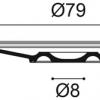 Фото размеров молдинга Orac R24