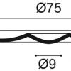 Фото размеров молдинга Orac R27