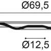 Фото размеров молдинга Orac R52