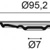 Фото размеров молдинга Orac R64