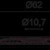 Фото размеров молдинга Orac R77