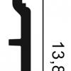 Фото размеров молдинга Orac SX118