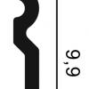 Фото размеров молдинга Orac SX137