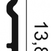 Фото размеров молдинга Orac SX138