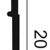 Фото размеров молдинга Orac SX156