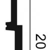 Фото размеров молдинга Orac SX181