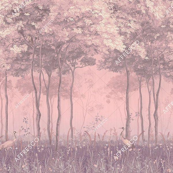 Фото фрески Affresco French Garden AF951-COL2