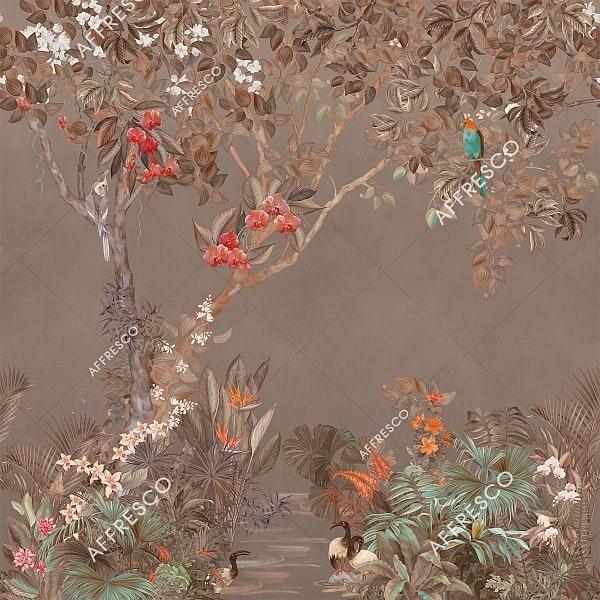 Фото фрески Affresco French Garden AF957-COL3