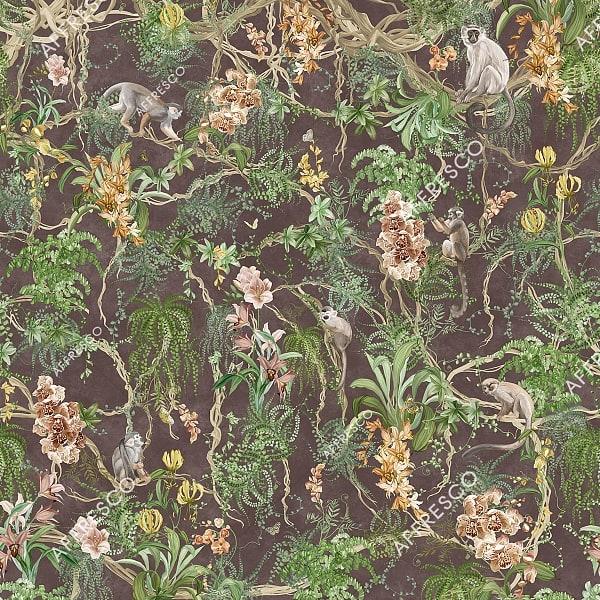 Фото фрески Affresco French Garden AF959-COL4