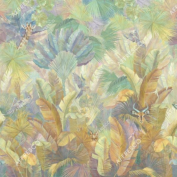 Фото фрески Affresco French Garden AF961-COL3