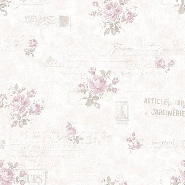 Фото обоев Aura Vintage Rose 2 арт.G45084