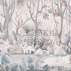 Фото фрески Affresco Fairytales AB614-COL2