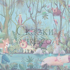 Фото фрески Affresco Fairytales AB614-COL4