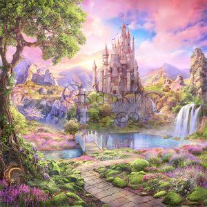 Фото фрески Affresco Fairytales AF684-COL1