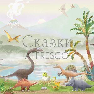 Фото фрески Affresco Fairytales AH618-COL1