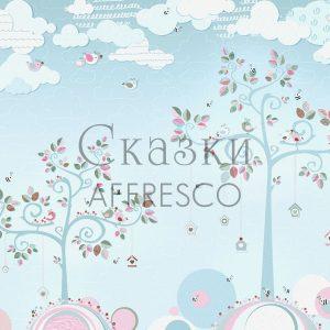 Фото фрески Affresco Fairytales AH651-COL4
