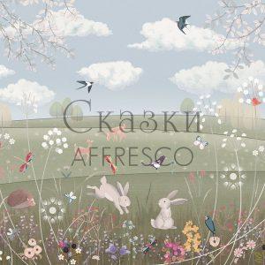 Фото фрески Affresco Fairytales AL606-COL2