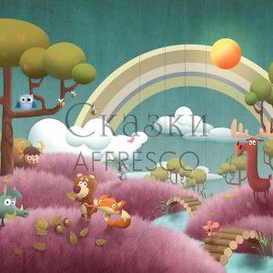 Фото фрески Affresco Fairytales DR600-COL1
