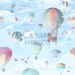 Фото фрески Affresco Fairytales ID610-COL1