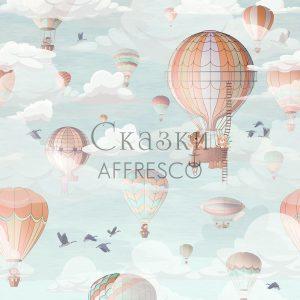 Фото фрески Affresco Fairytales ID610-COL2