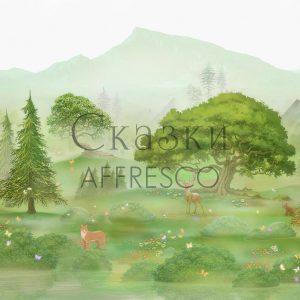 Фото фрески Affresco Fairytales ID615-COL1