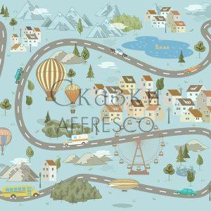 Фото фрески Affresco Fairytales ID625-COL3