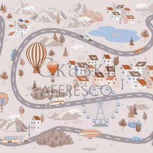 Фото фрески Affresco Fairytales ID625-COL4