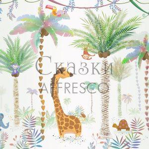 Фото фрески Affresco Fairytales ID689-COL1