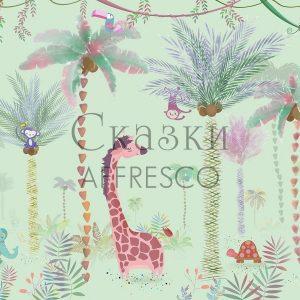 Фото фрески Affresco Fairytales ID689-COL2