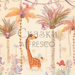 Фото фрески Affresco Fairytales ID689-COL4