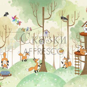 Фото фрески Affresco Fairytales IL635-COL1