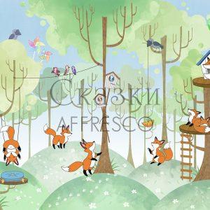 Фото фрески Affresco Fairytales IL635-COL4