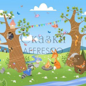 Фото фрески Affresco Fairytales IL644-COL3