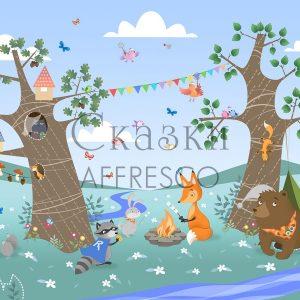 Фото фрески Affresco Fairytales IL644-COL4