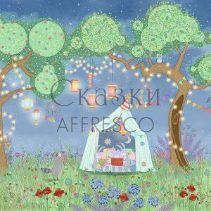 Фото фрески Affresco Fairytales IL655-COL3