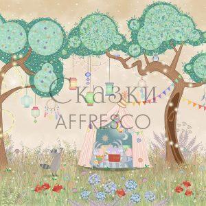 Фото фрески Affresco Fairytales IL655-COL4