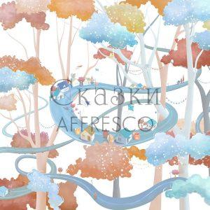 Фото фрески Affresco Fairytales ML634-COL2