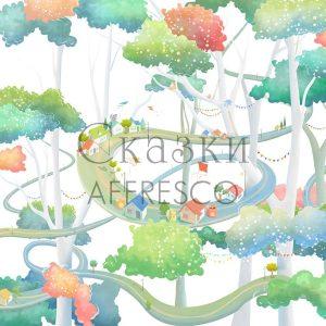 Фото фрески Affresco Fairytales ML634-COL3