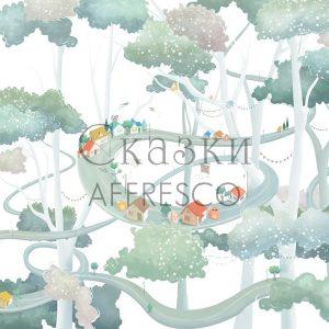 Фото фрески Affresco Fairytales ML634-COL4
