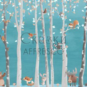 Фото фрески Affresco Fairytales ML653-COL1