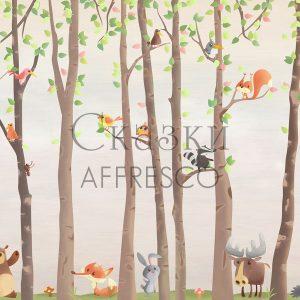 Фото фрески Affresco Fairytales ML653-COL3
