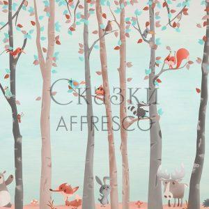 Фото фрески Affresco Fairytales ML653-COL4