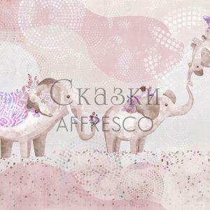 Фото фрески Affresco Fairytales ML654-COL4