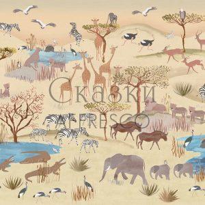 Фото фрески Affresco Fairytales NL670-COL1
