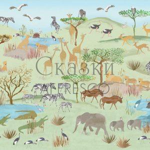 Фото фрески Affresco Fairytales NL670-COL4