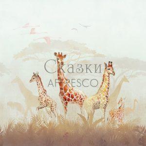 Фото фрески Affresco Fairytales OF601-COL3