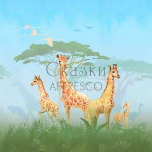 Фото фрески Affresco Fairytales OF601-COL4